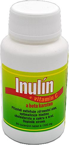 Inulín tablety