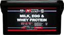 Milk, Egg and Whey protein